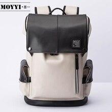 MOYYI حقيبة الظهر للكمبيوتر المحمول 14 بوصة متعددة الوظائف USB قابس شحن حقائب الظهر Mochila حقائب مدرسية فائقة الجودة حزم