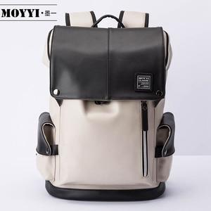 MOYYI plecak dla 14 cal laptopa wielofunkcyjny USB wtyczka ładowania plecaki Mochila torby szkolne wysoka jakość pakiety