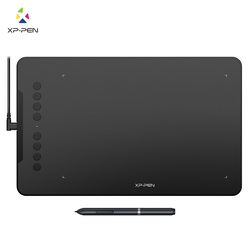 XP-Pen Deco01 Graphics Drawing Tablet Digital Paint with 8192 levels Pressure Passive Pen Stylus and 8 costomizable express keys