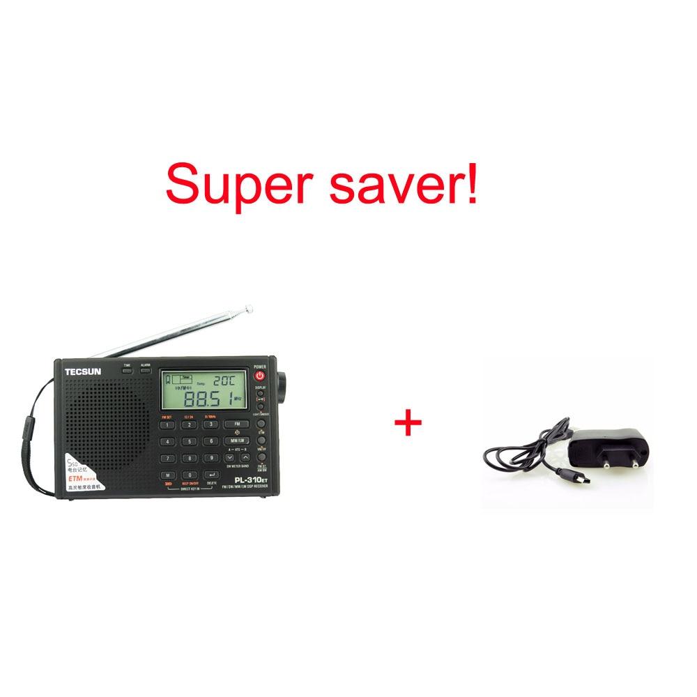 Tecsun PL-310ET Täysi bändi-radio Digitaalinen demodulaattori FM / - Kannettava ääni ja video - Valokuva 6