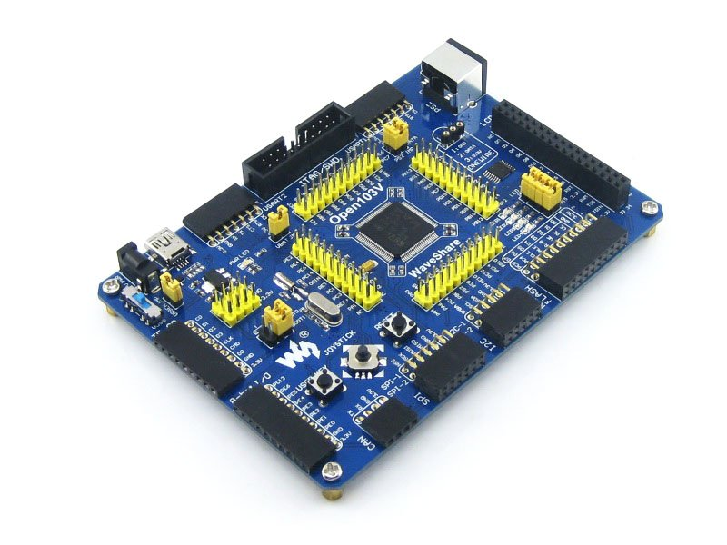 STM32 Board STM32F103VET6 STM32F103 ARM Cortex-M3 STM32 Development Board + PL2303 USB UART Module Kit =Open103V Standard stm32 core development board stm32f103 w5500 ethernet module integrated tcpip protocol stack