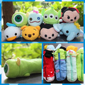 Free Shipping TSM plush toys 1pc Retail Minn Mike key Dumbo Donald Duck Alien cartoon stationery purse pencil case um gifts