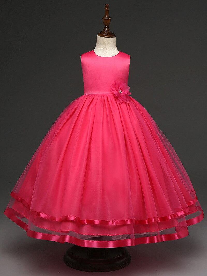 6eaa82303a0fd 4 12 ans filles robe formelle programme de mariage Festival robe de ...