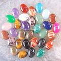 New without tags Fashion Jewelry Mixed 13x18MM Natural Lapis Lazuli Agate Picasso Turquoise Crystal CAB Cabochon 50Pcs RK1621
