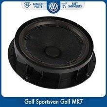 Original Car Door Speaker Audio Subwoofer Woofer Bass For VW Volkswagen Golf Sportsvan MK7 5GG 035 453