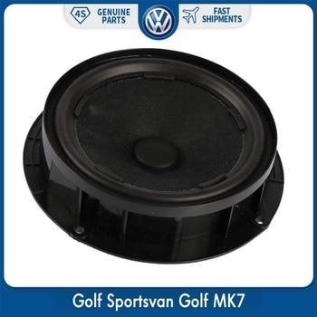 Original 1Pcs Car Subwoofer Woofer Speaker For VW Golf Sportsvan Golf MK7 L5GG 035 453 subwoofer