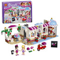 Chica Series Amigos Heartlake Cupcake Cafe Modelo Building Block Kit Stephanie Naomi Ladrillo Juguetes Bela 10496 01002