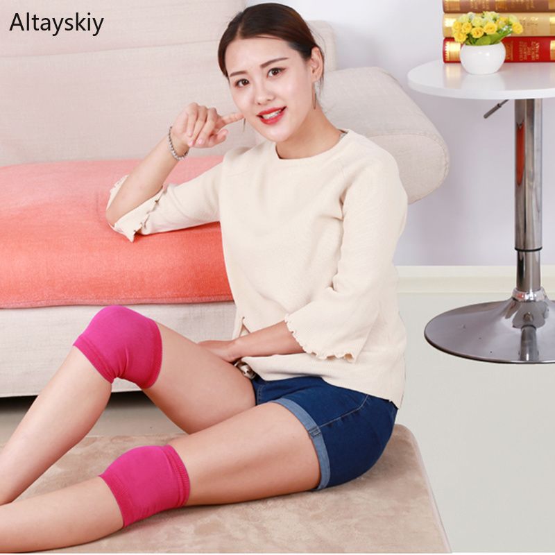 Knee Sleeve Women Colorful Ultra-thin Soft Simple Womens Breathable Solid High Quality And Elasticity All-match Chic Leisure