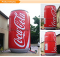 advertising inflatable coca colar cans 20ft. wine barrel beer tin with print for party Model Building Kits