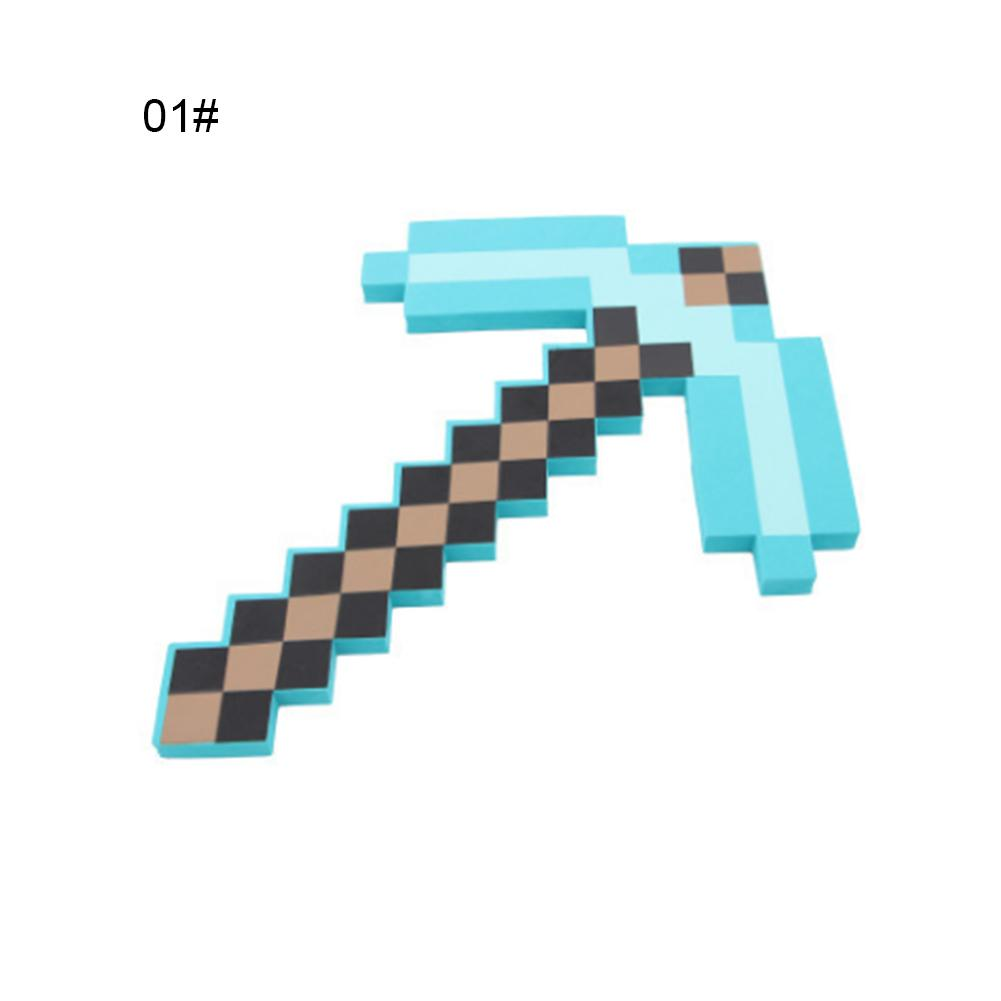 Toys & Hobbies Minecraft Toy Pixel Mosaic Minecraft Bow And Arrow Set Of Plastic Assembled Set Of Childrens Toy Game