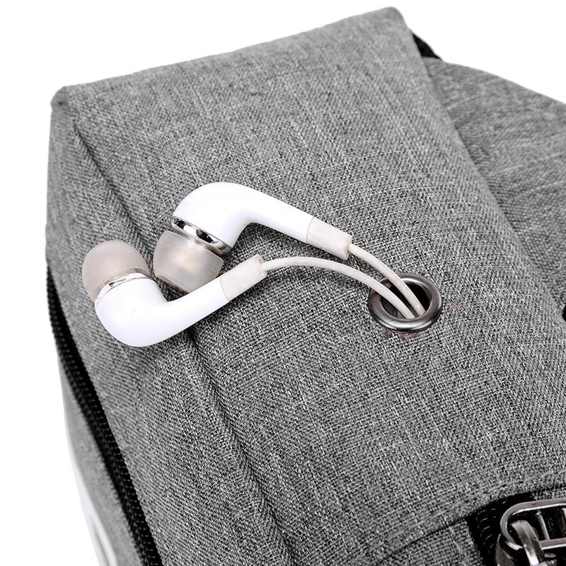Fashion Crossbody Sling Kotid Canvas rinnus Pack Meeste kotid Väike - Käekotid - Foto 3