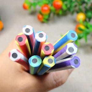 Image 3 - Lote de 60 unidades de pluma Flexible Deformable de colores, venta al por mayor, Regalo de Promoción lápiz, premio de regalo kawaii para estudiantes