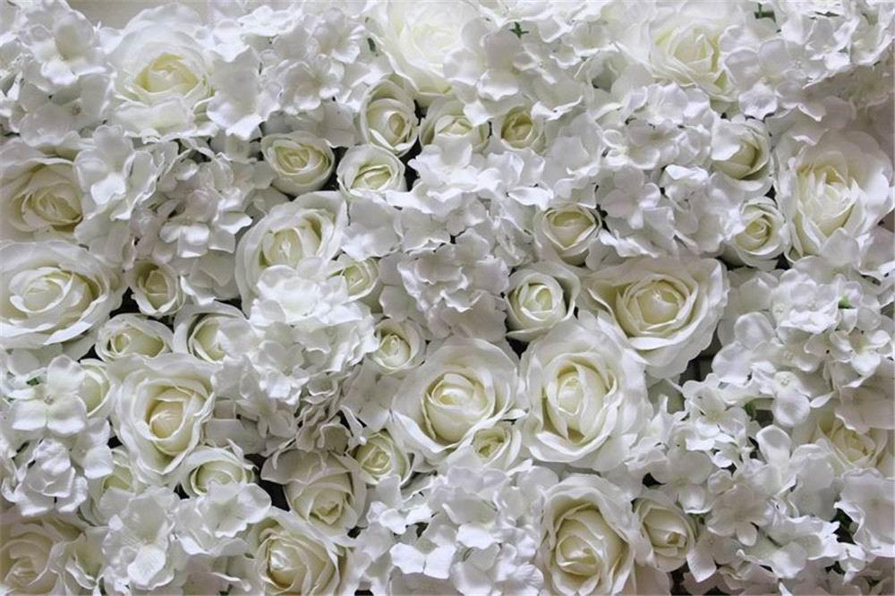 Бесплатная доставка белый зеленый серии Hybrid искусственный цветок для свадьбы невесты Букет цветов события вечерние декоративный цветок - 3