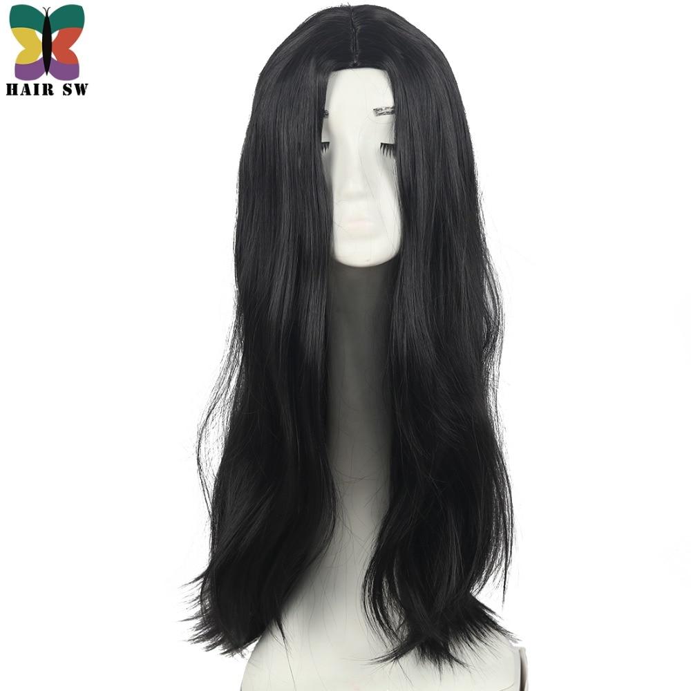 HAIR SW Långt Hår Värmebeständigt Rett Cosplay Wig Dräkt NO - Syntetiskt hår