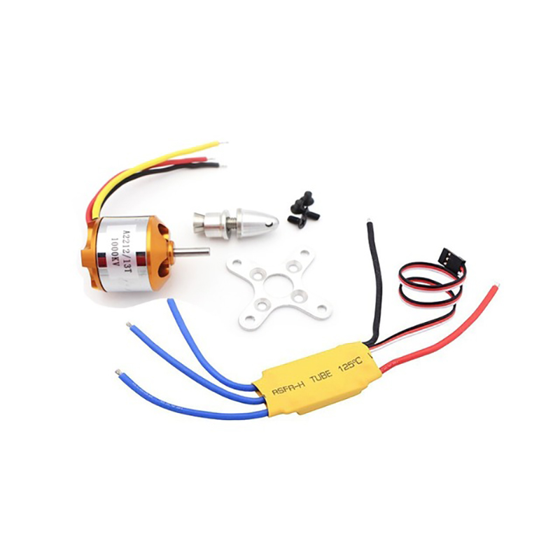 цены Tarot 2212 Motors 13T A2212 1000KV Brushless Motor 30A ESC Combo for Quadcopter F450 Quadcopter F550 RC Hexacopter 4-axis Copter