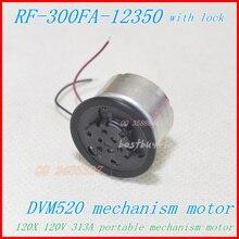 Portable DVD Motor RF-300F-12350 DV5.9V Black jacket with lock ( SF-HD850 / SF-HD870 120X) DVM520 spindle motor RF-300CA-12350