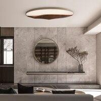 Fashion Acrylic LED Lights Ceiling Lamp Wood Light Fixtures Home Lighting Bedroom Dining Plafonnier Iron Luminaias Para Teto
