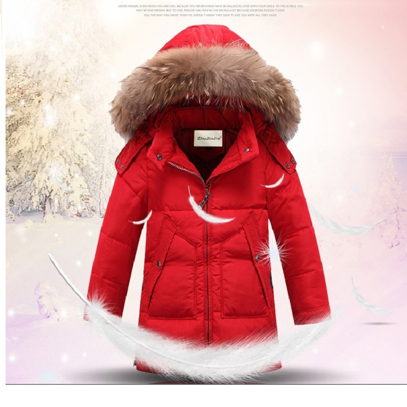 2017 New Arrival Children Down Jacket Boys Winter Jackets Fur Hooded Collar Long Thick Warm Outerwear Boys Winter Coats fashion teenage boys down jackets winter thick warm duck down coats for boys children fur collar hooded long sleeve outerwears