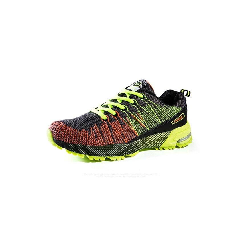 Jinbei, мужская спортивная обувь для бега, музыкальный ритм, мужские кроссовки, дышащая сетка, для улицы, спортивная обувь, светильник, мужская ... - 6