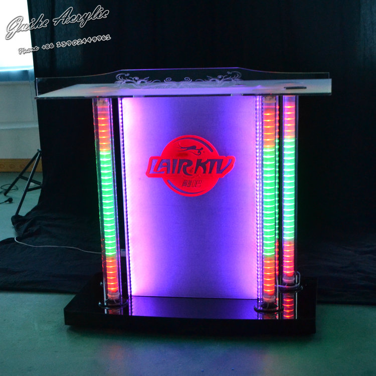 Led Bar Counter/DJ Counter Table Waterproof Led Bar Counter Design /Bar For Sale