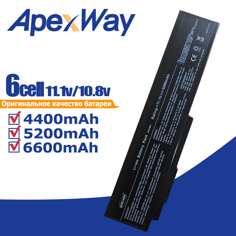 Batería del ordenador portátil para Asus N61 N61J N61D N61V N61VG N61JA N61JV N53 A32 M50 M50s N53S N53SV A32-M50 A32-N61 A32-X64 a33-M50