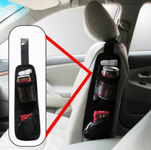 Universal Auto asiento lateral organizador almacenamiento Multi bolsa colgante bolsillo titular