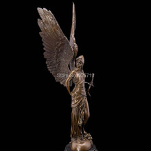 Christmas Promotion sales Greek mythology  Athena sculpture mythical cast bronze statues vintage home decoration New Year gifts