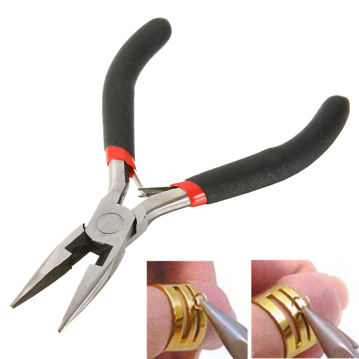 Mini Needle Nose Plier Kit Making Beading Jewellery Pliers DIY Needle Making Tools