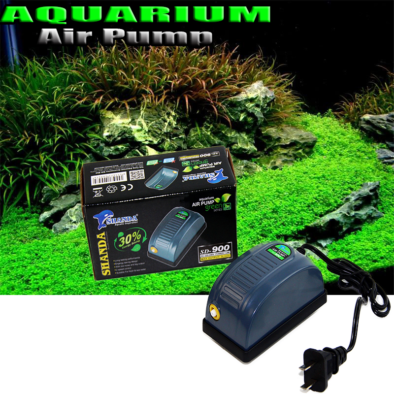 AQUARIUM AIR PUMP AC 220-240V SMALL Air Pump Single Outlet Fish Tank Air Pump Oxygen Air Pump EU Plug