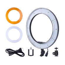Fusitu RL-188 Photographic Lighting 55W 5500K 240 LED Dimmable Photography Ring Light Lamp For Camera Photo Studio Phone Video
