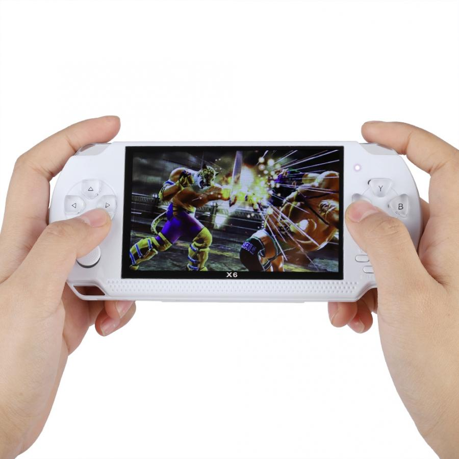 4.3-inch Screen Portable Handheld Game Console Video Game Player Recreational Machines Support e-book reading