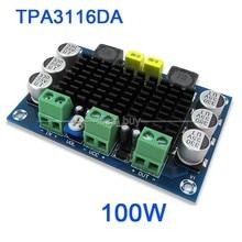 DC 12 В-24 В 100 Вт TPA3116DA Моно Канал цифровой аудио усилитель совет