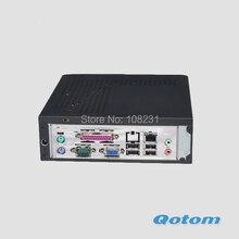 Крик!! дешевый VIA C7-D Процессора 1.8 ГГц одноядерный настольный компьютер QOTOM-T26H 1 Г RAM 8 Г SSD
