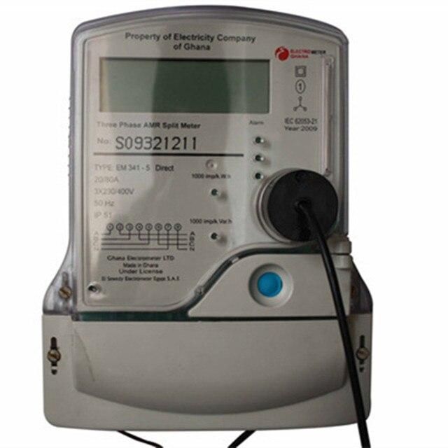 IEC1107 standard black color usb connector optical probes for Meter communication