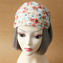 Ldyllic Small Fresh Floral Hair Accessories Hair Band Head Jewelry Korean Female Chiffon Cloth Hair Bands