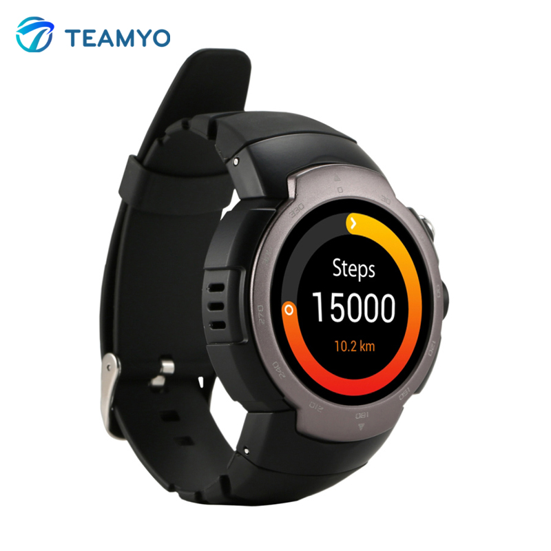 Zeblaze Blitz GPS Heart Rate Smart Watch IP67 Waterproof MTK6580 Quad Core font b Smartwatch b