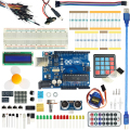 For Arduino Starter Kit Basic Learning Suite arduino uno R3 Kit Upgraded Stepper Motor LCD1602 LED Jumper Wire For Arduino