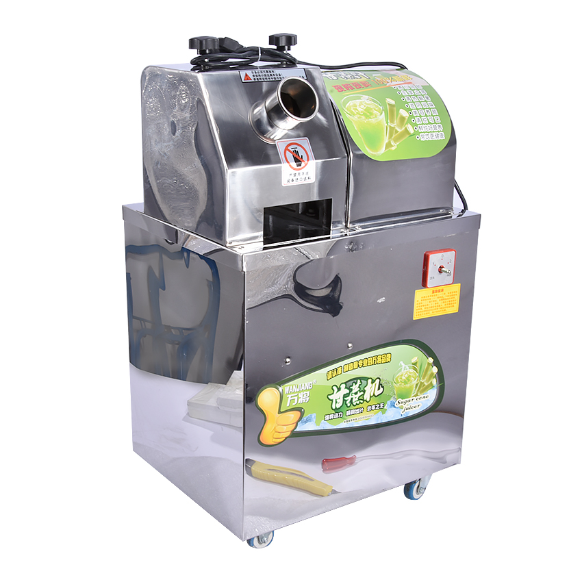 WJ 80A 220 В/50 Гц коммерческих сахарного тростника соковыжималка, сахарного тростника соковыжималки, электро сока сахарного тростника машина 750