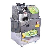 WJ 80A 220V/50 Hz commercial sugarcane juicer, Sugarcane Juice Extractor, eletric sugarcane juice machine 750W stainless steel