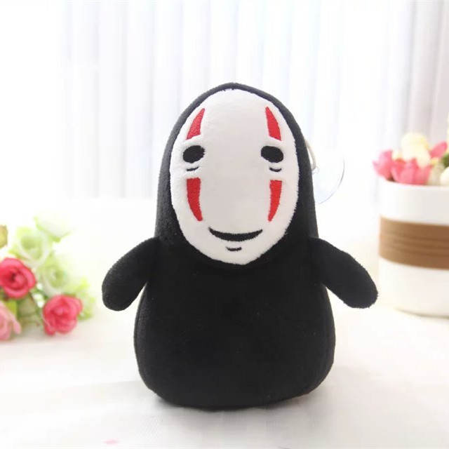 Spirited away without face doll man,Anime children toy doll,Filling and plush toys, Stuffed Toys,Plush Animals toy,Auto accessor
