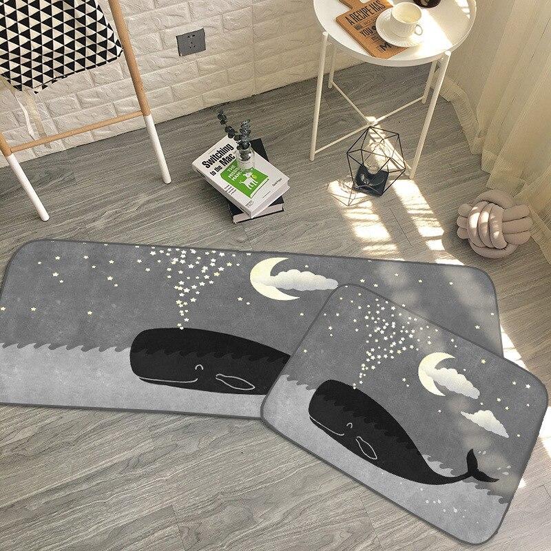 AOVOLL tapis de bienvenue pour porte d'entrée tapis de cuisine tapis de paillasson всенккнтниtapis d'entrée tapis de sol tapis de cuisine moderne