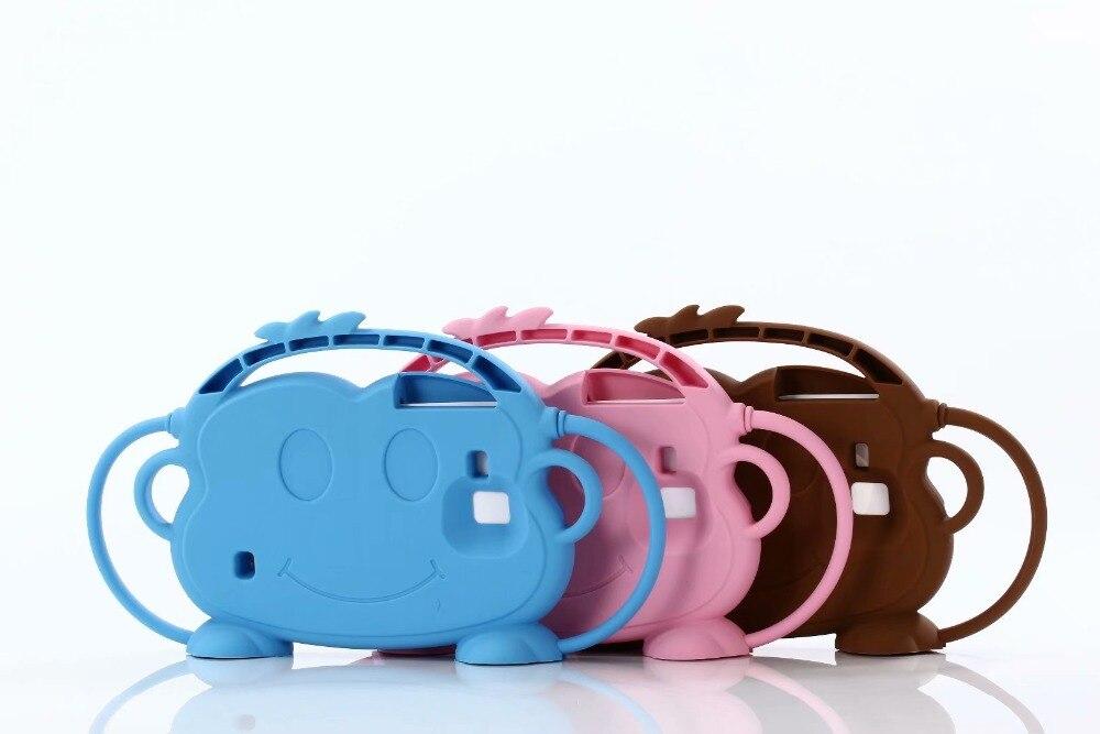 EVA Silicone Case For Samsung Galaxy Tab 3 4 7.0 T210 T230 T280 T285 T110 T113 T116 P3200 3D Kids Cute Cute Cartoon Cover