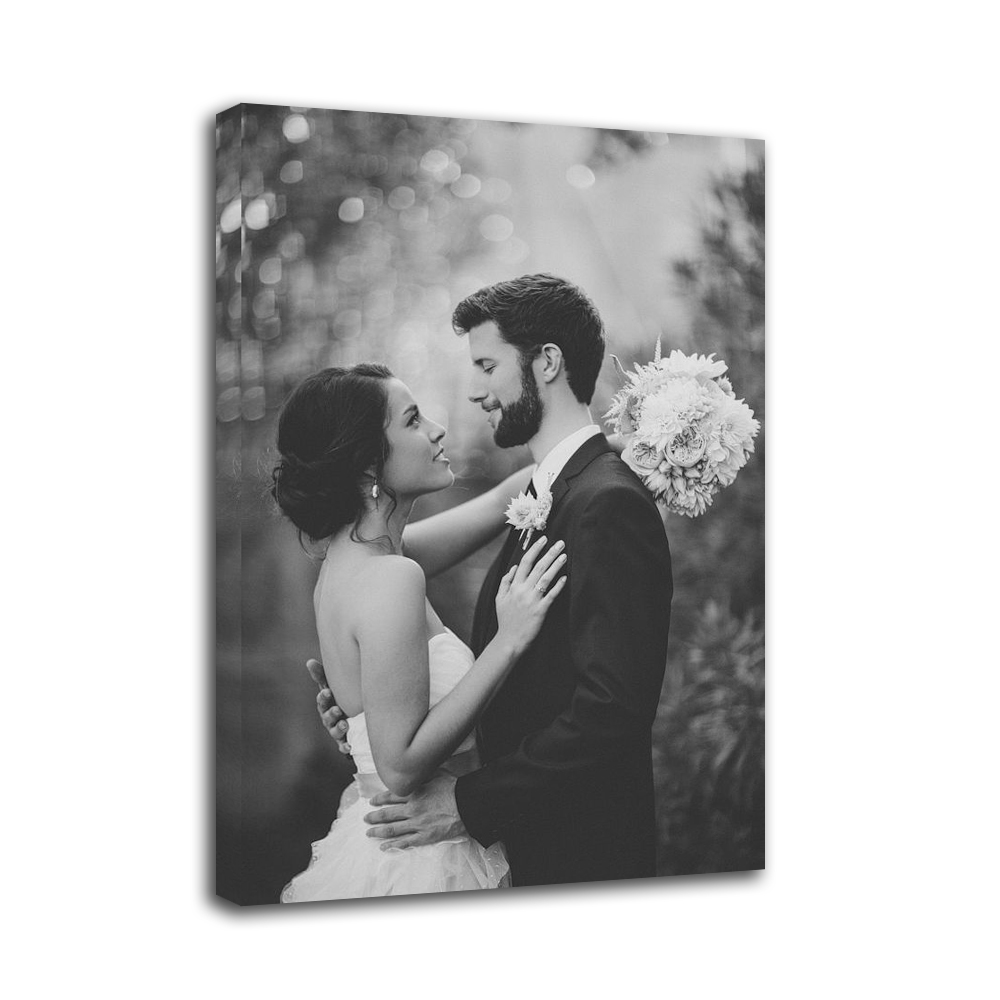 Wedding Sentiments Photo Canvas Print Custom Prints On Your Photos or Pictures For Home Decoration Wall Art