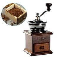 Cà phê Gia Vị Máy Mài Cầm Tay Máy Mài Cầm Crank Lăn Ổ Đĩa Hạt Burr Mill Tools E2S
