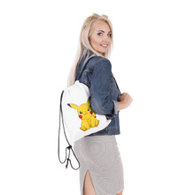 Pokemon Pikachu Drawstring Backpack Bag