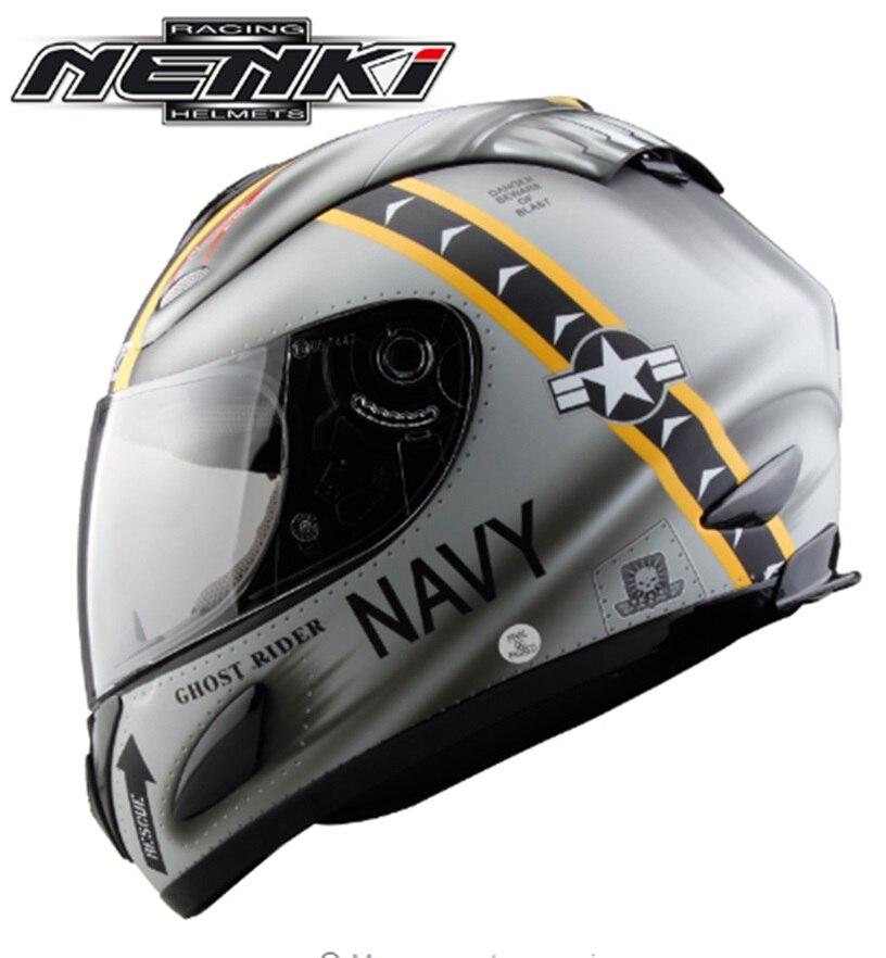 Hot Promotion Motorcycle Racing Helmet Full Face Casco Motor bike Capacetes Nenki Brand 802