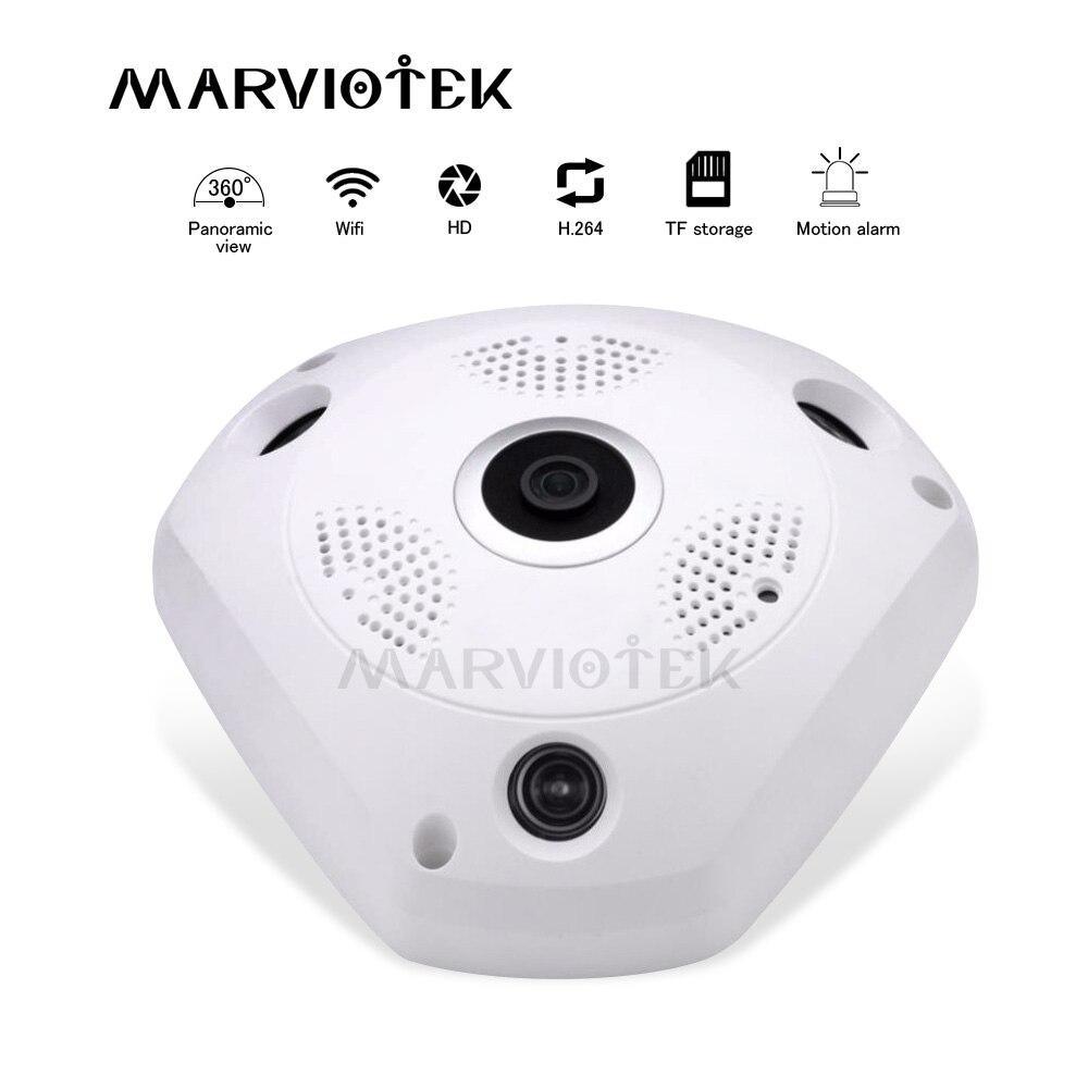 wireless 360 VR IP Camera wifi 3MP video surveillance cctv camera panoramic ip digital ptz mini camera HD fisheye 960P p2p IR