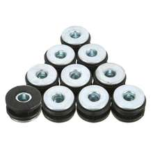 Motorcycle Rubber Grommets Bolt Pressure Relief Cushion Kit
