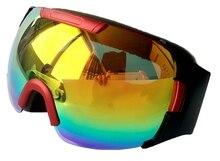 2017 Newest Skiing Sport Glasses Snow Goggles Anti-Fog Skateboard Mask  Snowboard Skiing Goggle SG47-2