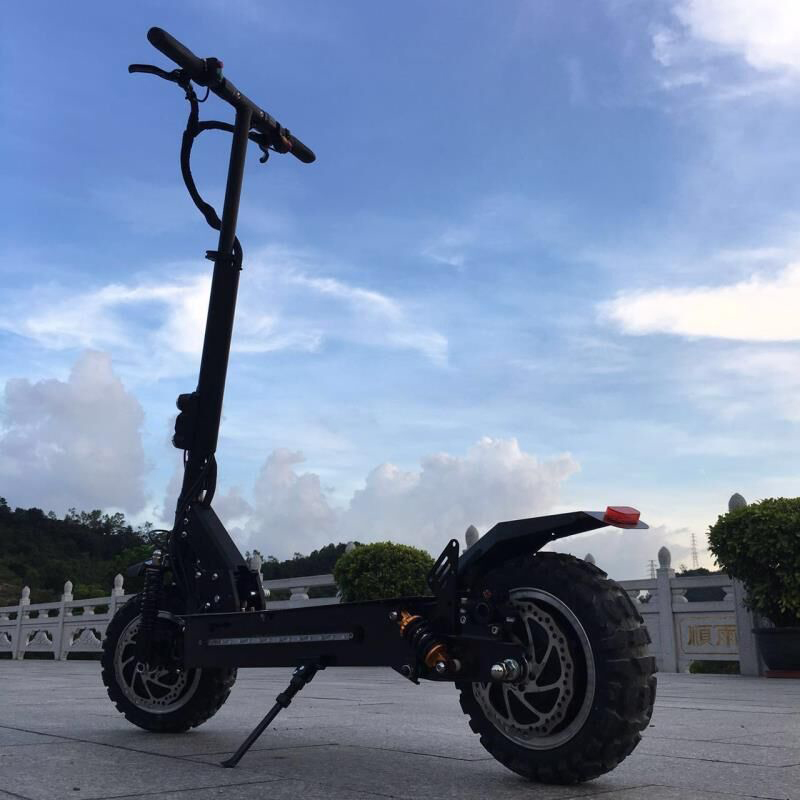 11inch 60V double oil brake adult electric scooter double shock absorber dual drive hoverboard high-power electric scooter